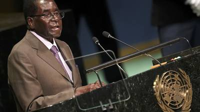 Mugabe pleads for lift on the West's sanctions on Zimbabwe