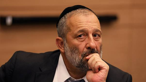 Image: Israel's Interior Minister Aryeh Deri, leader of the ultra-Orthodox