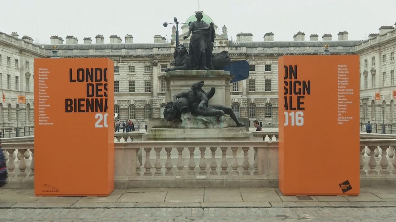 Bienal do Design de Londres na Somerset House