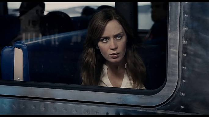 """The Girl on the Train"" con Emily Blunt"