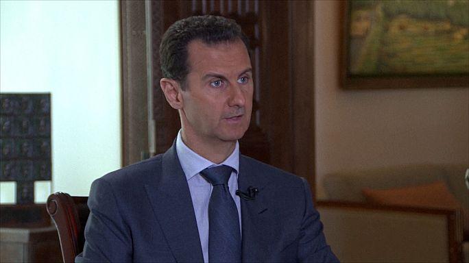 """الأسد يتهم واشنطن بالتعاون مع """"الإرهابيين"""""""