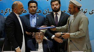 أفغانستان توقع اتفاق سلام مع قلب الدين حكمتيار