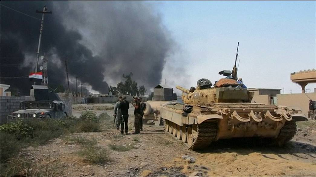 """بغداد تعلن تحرير الشرقاط من تنظيم """"الدولة الإسلامية"""""""
