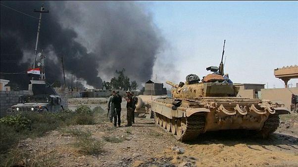 Irak ordusu Şirkat'ı alarak Musul'a yöneldi