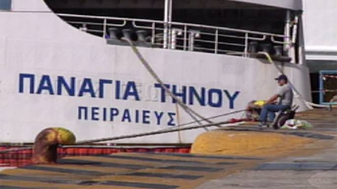Greve de 48 horas dos marinheiros suspende ligações às ilhas gregas