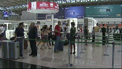 Unions ground Alitalia flights from Rome's Fiumicino airport