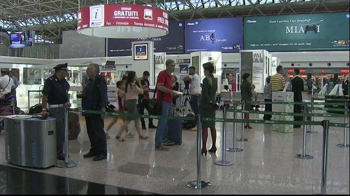 Alitalia: 150 voli cancellati a Fiumicino per sciopero personale di volo