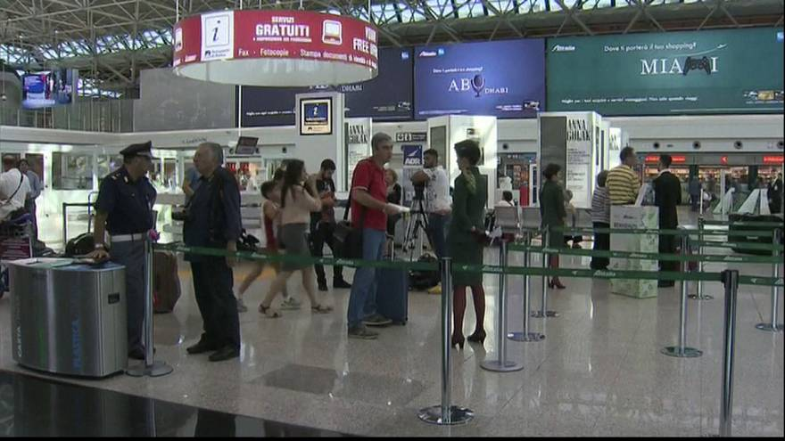 Alitalia convoca una huelga de 24 horas