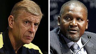 Dangote envisage d'acheter Arsenal FC d'ici 2019
