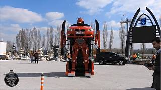 Turkish company brings Transformers to life
