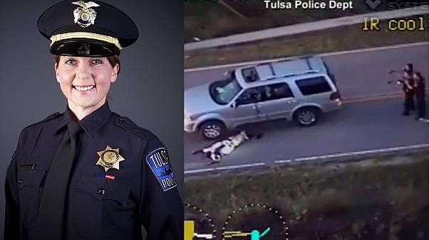 Manslaughter charge for US police officer after fatal shooting of black man