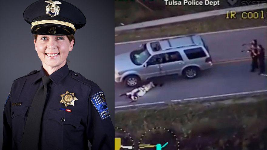 La agente que mató a un afroamericano en Tulsa ha sido acusada de homicidio imprudente en primer grado