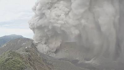 Watch: Time-lapse video of Turrialba volcano eruption
