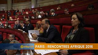 African meeting in Paris by business leaders 2016 [The Morning Call]