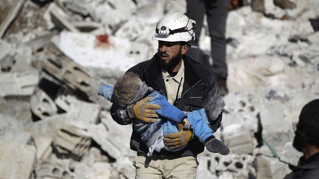 Schwere Luftangriffe auf Ost-Aleppo, offenbar auch zivile Rettungseinrichtungen getroffen