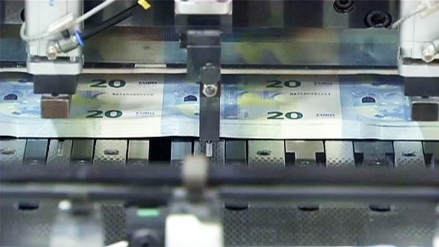 Schwunglose Wirtschaft in der Eurozone