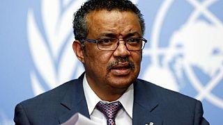 L'Éthiopien Tedros Adhanom Ghebreyesus en course pour le poste de DG de l'OMS