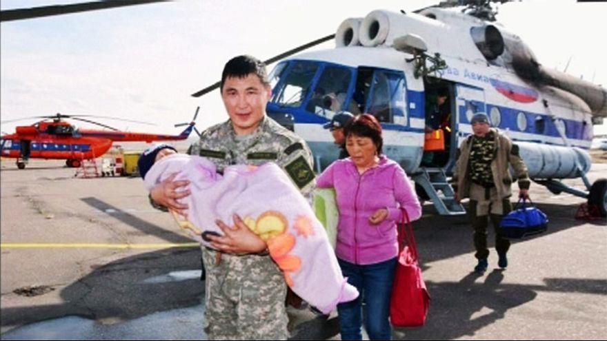 Sibirya'da ormanda kaybolan 3 yaşındaki çocuk 3 gün sonra bulundu