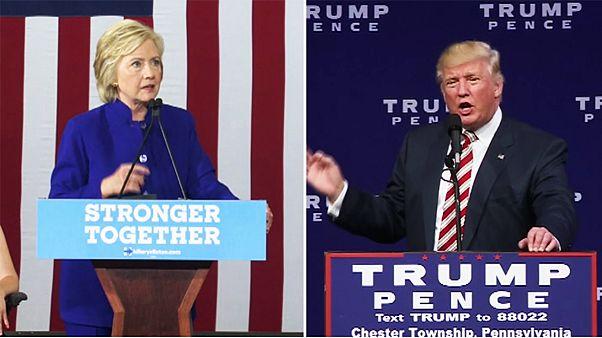 Clinton és Trump már a szópárbajra készül