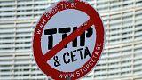 اتفاق التجارة الحرة عبر الأطلسي يوضع في غيبوبة اصطناعية