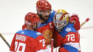 Russia set up semi with hosts Canada in the Ice Hockey World Cup