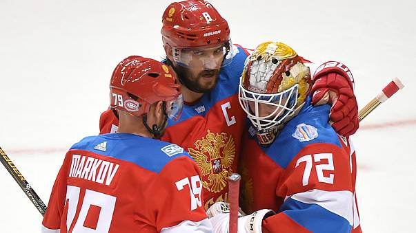 Russland komplettiert Halbfinale beim World Cup of Hockey