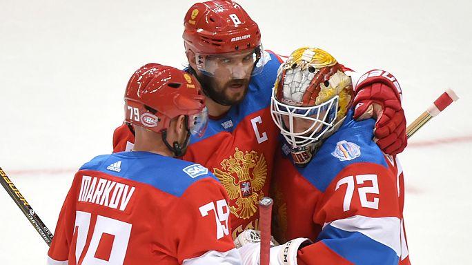 Russland komplettiert Halbfinale beim World Cup of Hockey