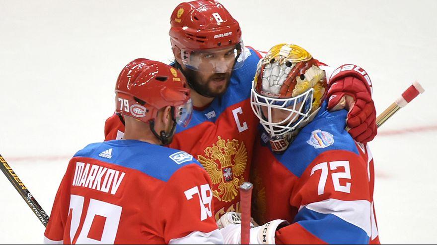 Buz hokeyinde son yarı finalist Rusya