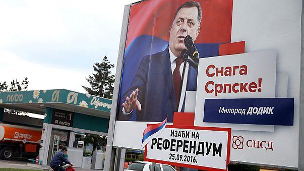 Polémico referendum reaviva los temores a una posible ruptura en Bosnia-Herzegovina