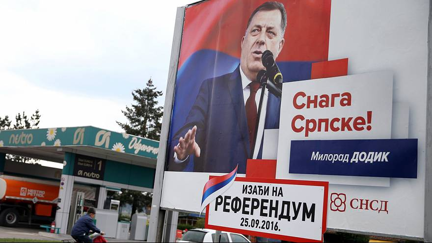 Referendo na República Srpska reacende tensões na Bósnia-Herzegovina