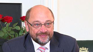Schulz plädiert in London für konstruktive Brexit-Verhandlungen und baldige Aussagen