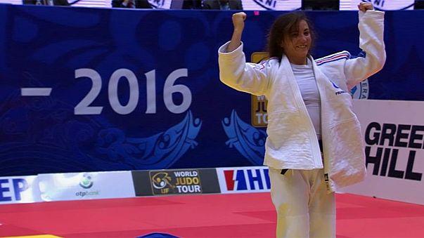 Les jeunes judokas français se révèlent à Zagreb
