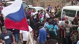 Syrien: Russland verteilt humanitäre Hilfe in Aleppo