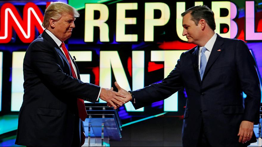 Ted Cruz Trump'a destek vereceğini açıkladı