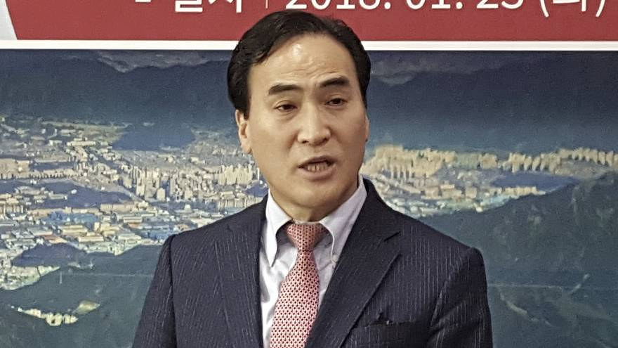 Image: Winning candidate Kim Jong Yang of South Korea was backed by the U.S