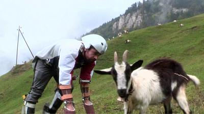 Brit wins Ig Nobel Prize for impersonating a goat