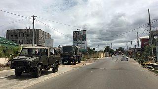 خیابانهای لیبرِویل در گابن با تایید پیروزی علی بونگو ساکت و آرام است