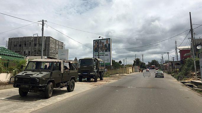 Resmi seçim sonuçları açıklandı Gabon'da güvenlik tedbirleri artırıldı