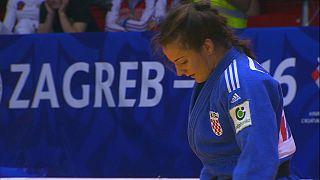 Primer oro local en el Gran Premio de Zagreb de judo