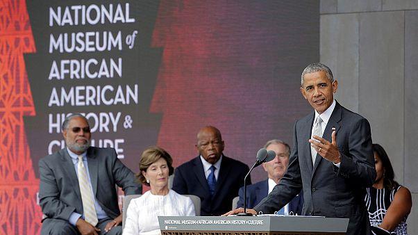Obama inaugura el museo afroamericano de Washington