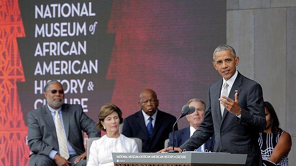 Usa: Obama inaugura il primo museo sulla storia e la cultura afro-americana