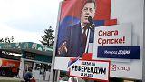 Un polémico referéndum en la República Serbia de Bosnia reaviva las tensiones