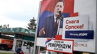 Referendo na República Srpska: Bruxelas e Washington temem novo período de instabilidade