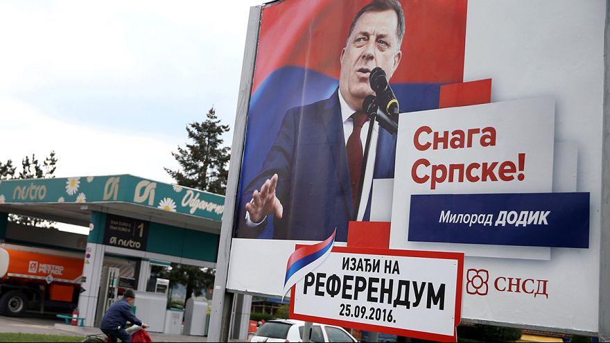 """Bosna Hersek'te """"tartışmalı"""" referandum"""