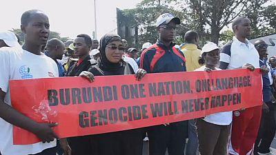 Des milliers de Burundais ont manifesté samedi contre l'ONU