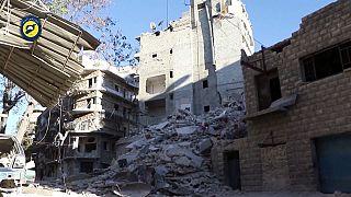 قصف جوي على حلب واحيائها الشرقية ومجلس الامن يبحث الوضع