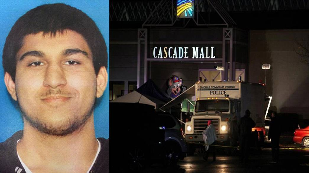Suspect held over deadly US shopping mall shooting