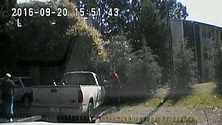 ABD: Polis kamerasından Scott'ın vurulma anı