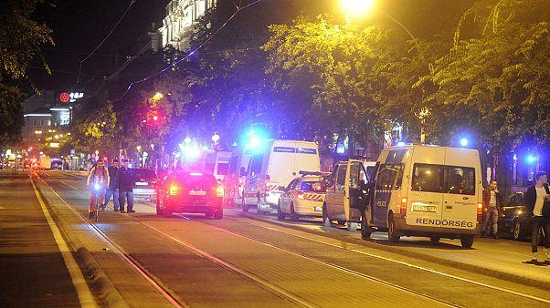 Robbanás Budapesten: tart a helyszínelés a Teréz körúton