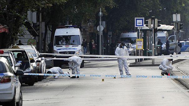 Budapeşte'de polise 'çivi bombalı' saldırı